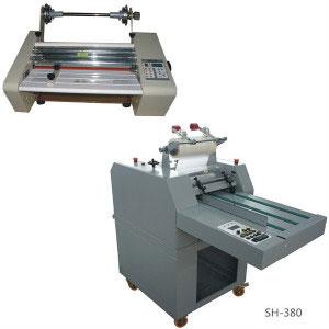 Single side roll laminator